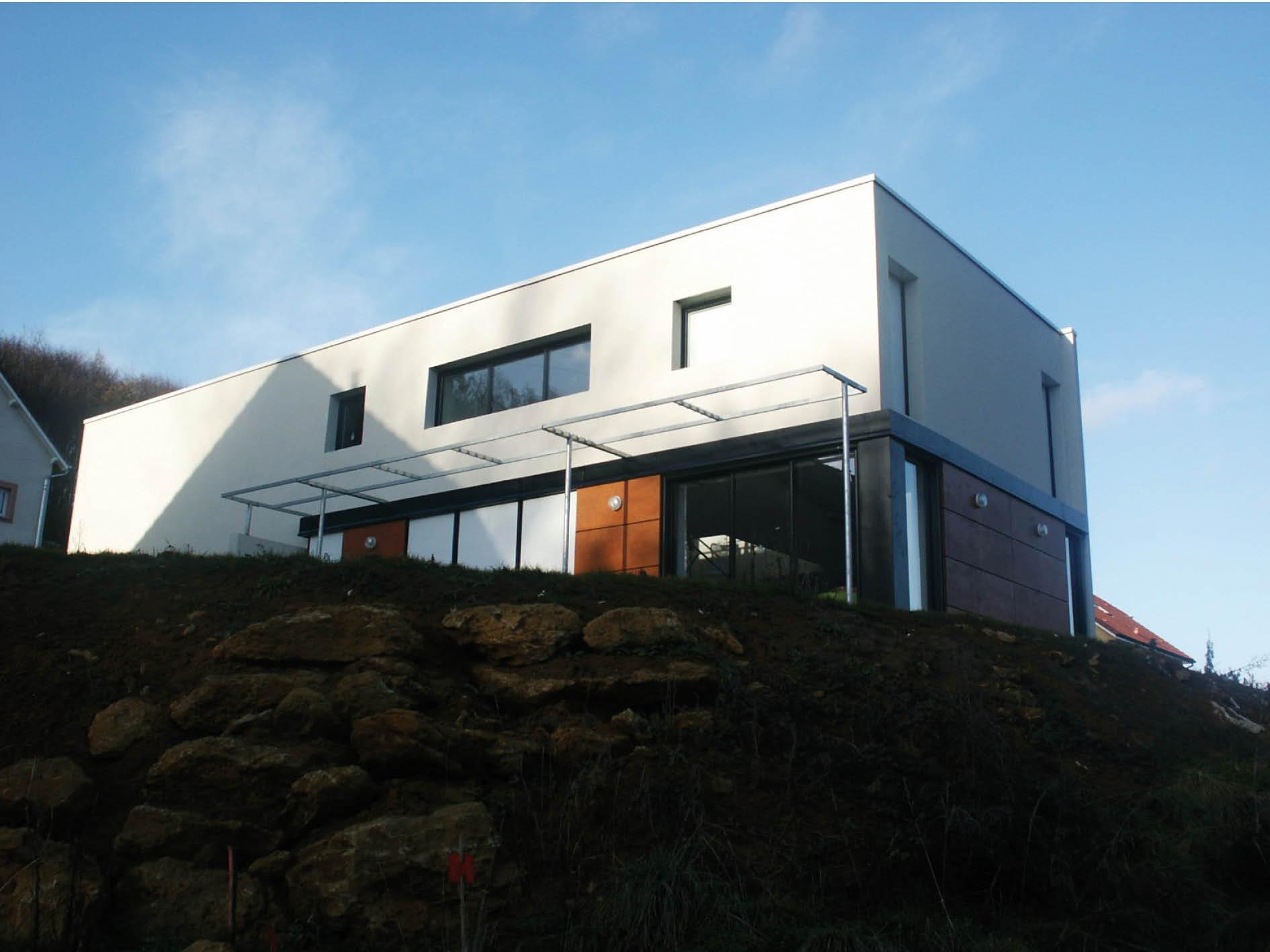 Maison hb n archi for Hb architectes